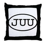 JUU Oval Throw Pillow