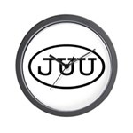 JUU Oval Wall Clock