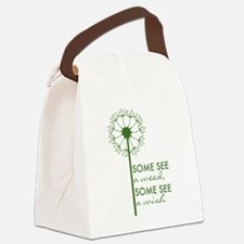 Dandelion Canvas Lunch Bag