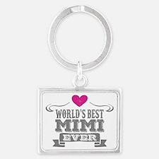Funny Mimi Landscape Keychain