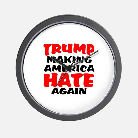 Donald Trump Wall Clock