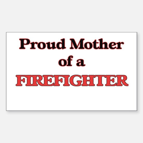 Proud Mother of a Firefighter Decal