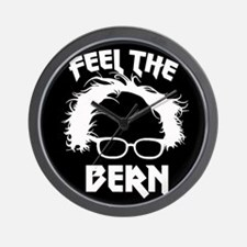 Feel the Bern Metal Badass Wall Clock