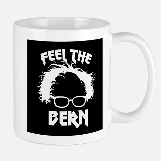 Feel the Bern Metal Badass Mugs