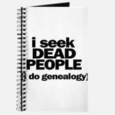 I Seek Dead People (Genealogy) Journal
