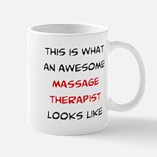 Awesome Massage Therapist Mug Mugs
