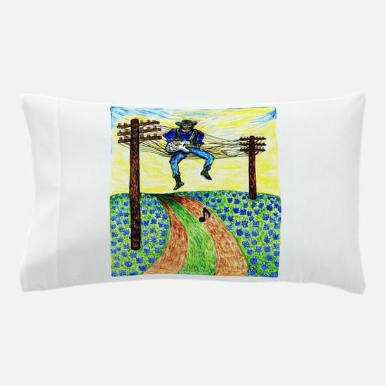 Girdners Waylon on the Wire Pillow Case