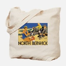 North Berwick Vintage Travel Tote Bag