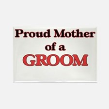 Proud Mother of a Groom Magnets