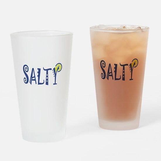 Salty Margarita Drinking Glass