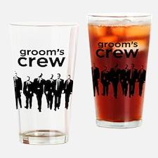 Cute Groomsman Drinking Glass