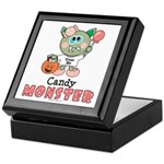 Halloween Candy Monster Keepsake Box