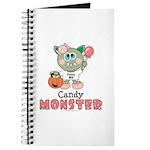 Halloween Candy Monster Journal