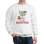 Halloween Candy Monster Sweatshirt