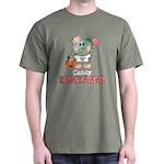 Halloween Candy Monster Dark T-Shirt