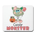 Halloween Candy Monster Mousepad