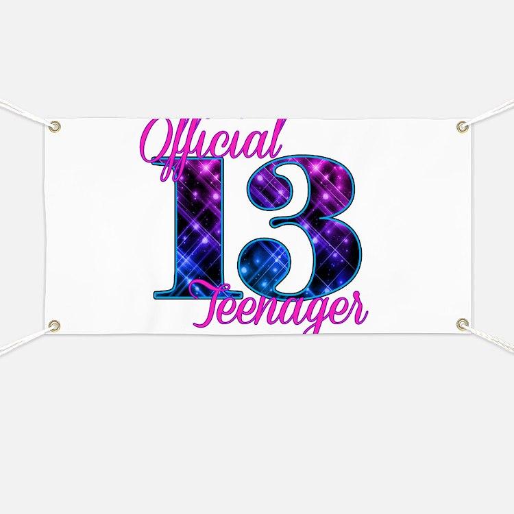 Cute 13 Banner