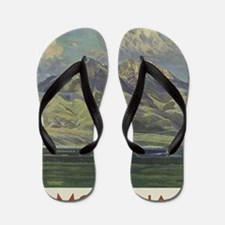 Cute Northwest Flip Flops