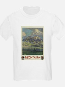 Vintage poster - Montana T-Shirt
