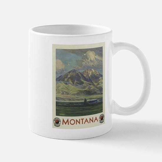 Vintage poster - Montana Mugs