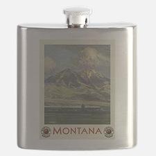 Vintage poster - Montana Flask