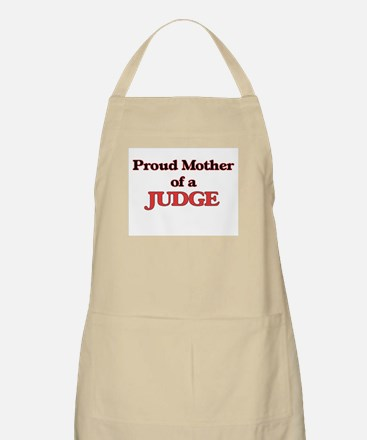 Proud Mother of a Judge Apron