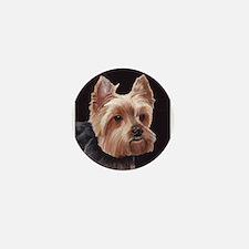 Cute Yorkie dog Mini Button