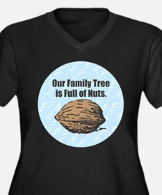Family Tree Nuts Plus Size T-Shirt
