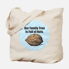 Family Tree Nuts Tote Bag