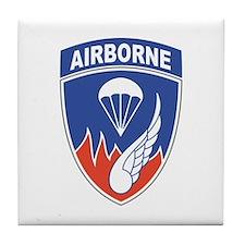 187th Infantry Regiment Tile Coaster