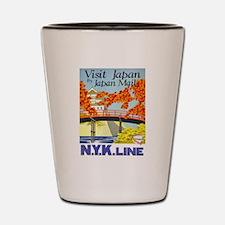 Vintage poster - Japan Shot Glass