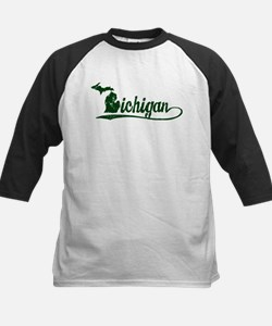 Michigan Script Baseball Jersey