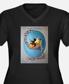 Easter Greetings 1909 Plus Size T-Shirt