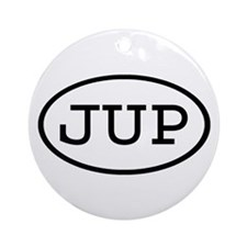 JUP Oval Ornament (Round)