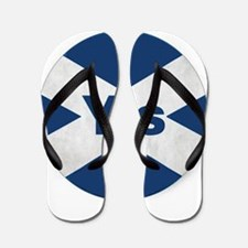 Yes to an Indepedent Scotland 'Saor Alb Flip Flops