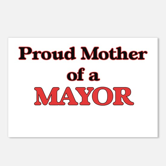 Proud Mother of a Mayor Postcards (Package of 8)