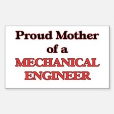 Proud Mother of a Mechanical Engineer Decal