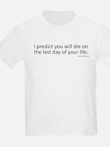 Prediction (Black Text) T-Shirt