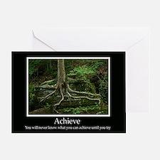 Achieve Inspiring Decor Greeting Card