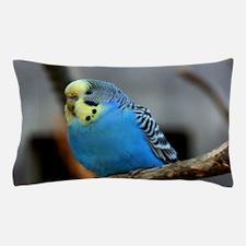 Budgie Flower Pillow Case
