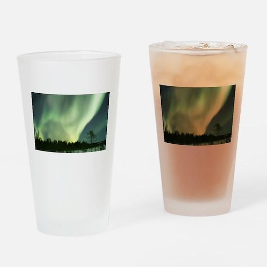 Northern Lights Drinking Glass