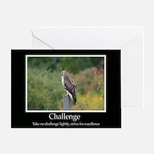Challenge Inspiring Decor Greeting Card