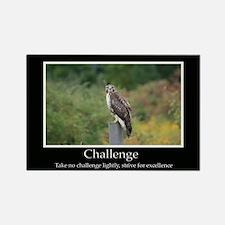 Challenge Inspiring Decor Rectangle Magnet