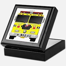 Unique Chief fireman Keepsake Box