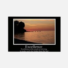Excellence Decor Rectangle Magnet