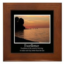 Excellence Decor Framed Tile