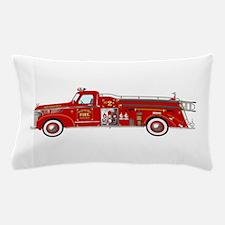 Fire Truck - Vintage fire truck. Pillow Case
