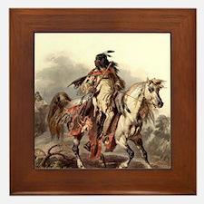 Cute Blackfoot Framed Tile