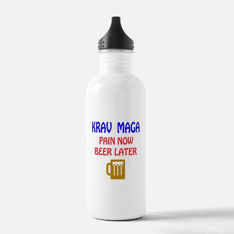 Krav Maga Pain Now Bee Water Bottle
