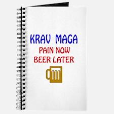 Krav Maga Pain Now Beer Later Journal